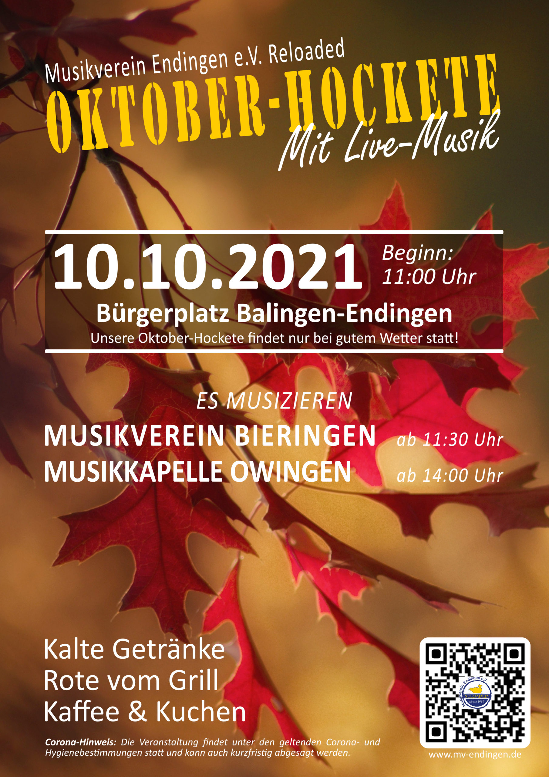 Read more about the article Oktober-Hockte 10.10.2021